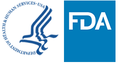 HHS FDA logo